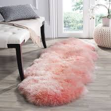catchy fur runner rug 25 best ideas about pink rug on girls rugs
