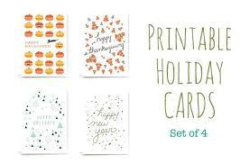 Free Holiday Greeting Card Templates Printable Holiday Greeting Cards Electronic Card Template Holiday