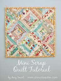 Gorgeous Mini Scrap Quilt Tutorial - & Gorgeous Mini Scrap Quilt Tutorial Adamdwight.com