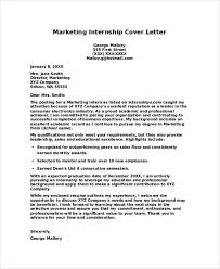 Trainee Cover Letters 8 Internship Cover Letters Samples Examples Templates