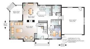craftsman floor plans. Lofty Design Ideas 3 Craftsman House Plans With Two Master Suites Plan W3816 Floor