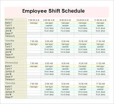 Employee Training Calendar Template Work Schedule Excel – Jjbuilding ...