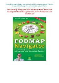 Download_pdf The Fodmap Navigator Low Fodmap Diet Charts