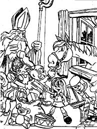 Sinterklaas Kleurplaten Tekeningen Zwarte Piet