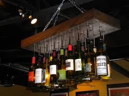 Wine Bottle Light Fixture Vineyard Wine Bottle Chandelier Diy Pinterest Wine Bottle