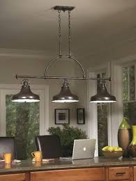 3 light pendant ceiling light alfie bronze effect