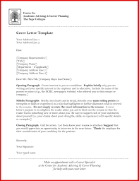 New Academic Letter Template Mailing Format