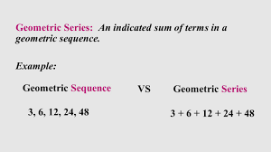 Geometric Sequence Example Geometric Sequences And Series Ppt Video Online Download 5