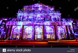 Light Art Video Hannover Germany 18th Nov 2018 The Opera House Will Be