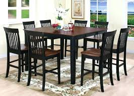 round kitchen table and chairs set tall round kitchen tables modern home design tall kitchen table