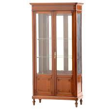 wood curio cabinet antique cherry wood curio cabinet kings brand furniture wood curio cabinet with glass