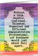 Administrative Professional Days Administrative Professionals Day Cards From Greeting Card Universe