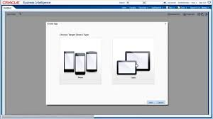 Oracle Bi Mobile App Designer Starting And Exploring Oracle Bi Mobile App Designer
