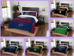 seattle seahawks bedding set 3pc bed in a bag nfl licensed comforter full queen