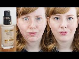 max factor miracle match foundation first impressions review alice red