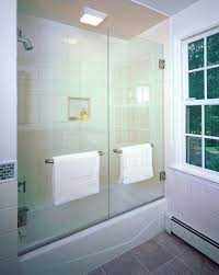 aqua tub door frosted glass