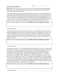 Maybe you would like to learn more about one of these? Main Idea Worksheets Ereading Worksheets