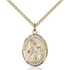 sterling silver and gold medal pendants