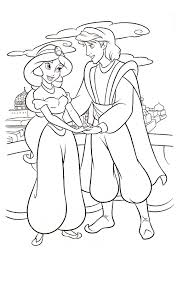 Small Picture Aladdin coloring pages with jasmine ColoringStar