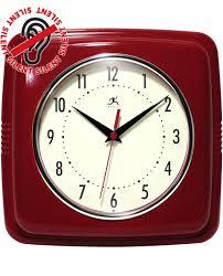 red wall clock clocks australia large canada uk