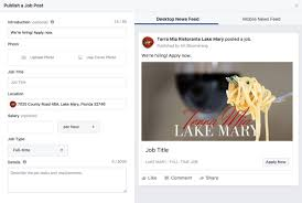 is facebook the job hunter s new best friend job posts will show up on their newsfeed just like regular posts once the user has clicked apply now it will send them to an application