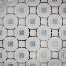 devotion antique silver white mirror mosaic ocean glass tile