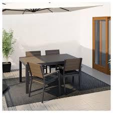 Ikea Dinning Room falster table outdoor blackbrown ikea 3165 by uwakikaiketsu.us
