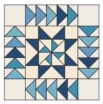 52 best Free Quilt Block Patterns images on Pinterest | Quilt ... & WINTER MIGRATION Free Quilt Block Pattern: Finished size 18