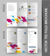Corporate Business Tri Fold Mock Up Brochure Design