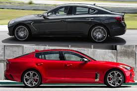 2018 kia genesis. plain 2018 2019 genesis g70 vs 2018 kia stinger whatu0027s the difference  motor trend to kia genesis