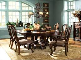 ashley furniture round dining table set rustic glass sets kitchen good looking outstan