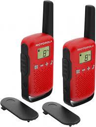 <b>Рация Motorola TALKABOUT T42</b> черный/красный цвет — купить ...