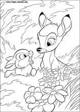 Small Picture Bambi coloring pages on Coloring Bookinfo