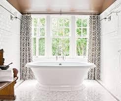 Modern Bathroom Window Curtains Inspiration Home Designs Modern Bathroom Curtain Ideas
