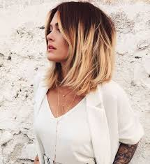 um layered haircut for thick hair ombre bob haircuts and hairstyles