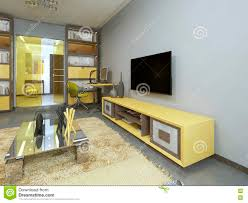 Tv Cabinets For Living Room Yellow Tv Unit Modern Living Room Yellow Unit Modern Living Room