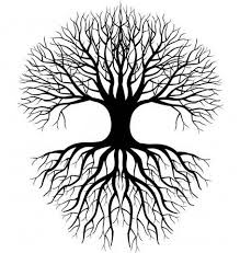 Small Picture Simple Tree Roots Coloring Coloring Pages Tattoos Pinterest