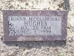 "Bonnie ""Bonnie Vey"" Middlebrooks Hughes (1904-1999) - Find A Grave ..."