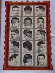 Barber Hairstyles Chart Barber Shop Hairstyle Chart Hair Barber Barber Shop Barber
