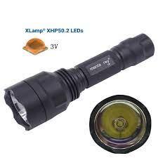 Đèn pin siêu sáng C8 XHP50.2   Sáng Tạo 88