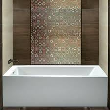what is an alcove bathtub shown installed reviews maax avenue