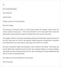 Sample Donation Letter Format 9 Free Documents Download