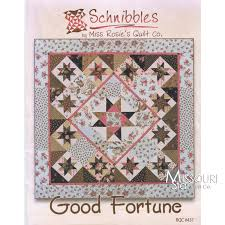 Good Fortune Mini Quilt Pattern By Carrie Nelson for Miss Rosie's ... & Good Fortune Mini Quilt Pattern By Carrie Nelson for Miss Rosie's Quilt Co.  - SchnibblesSKU Adamdwight.com