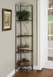 Wrought Iron Corner Shelves 1 Wrought Iron Corner Shelf Foter