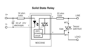 ac solid state relay circuit diagram wiring schematics and diagrams solid state relay ssr voxintech