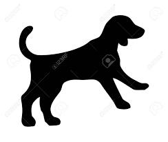 Beagle Icon. Dog Jump Silhouette ...