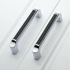 kitchen cabinet handles 5 modern fashion black kitchen cabinet handles shiny silver kitchen cupboard door handles