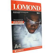 <b>Бумага термотрансферная</b> для тканей <b>Lomond</b> 0808411 ...