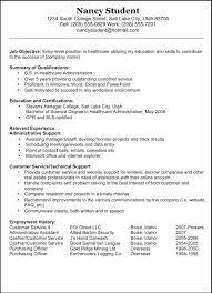 Resume Format For Technical Jobs Elegant Good Career Objective