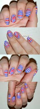 36 Striped Nail Art Ideas | Nail art stripes, Nail tape and Scotch ...